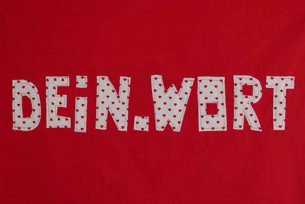 Wunschwort (Rot-Herzen)