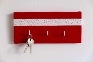 Schlüssel.Halter.Rot
