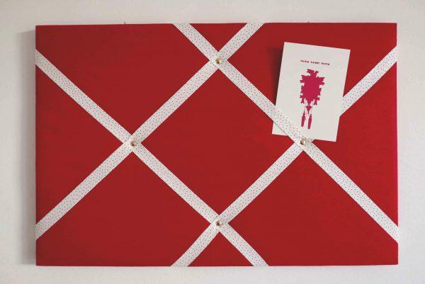 Postkarten.Halter (Rot)