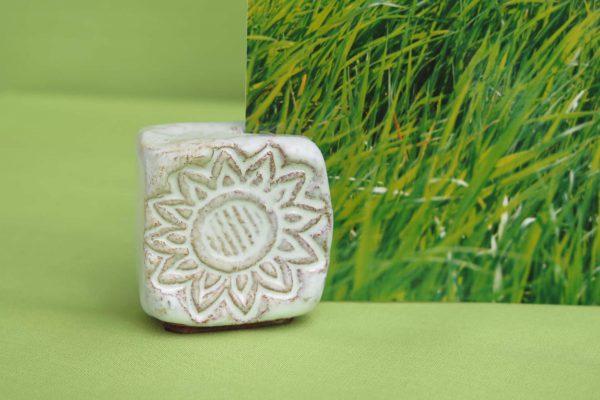 Keramik-Kartenhalter-Sonne